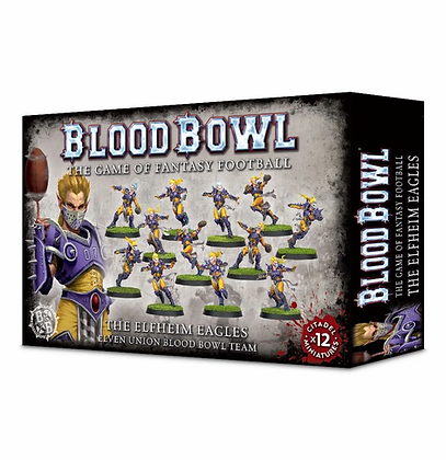 Blood Bowl Team - Elven Union Elfheim Eagles