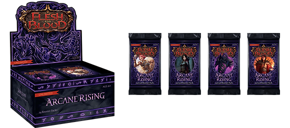 Flesh and Blood Arcane Rising Booster Box - unlimited Edition