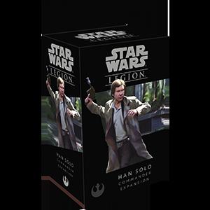 Star Wars Legion - Rebel - Han Solo Commander Expansion