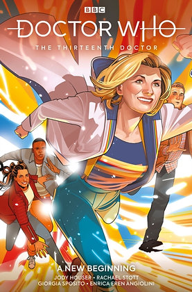 Doctor Who 13th Doctor Vol 1 - A New Beginning