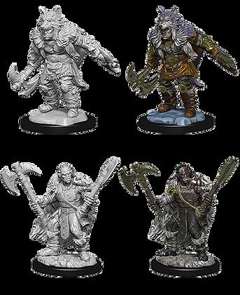 Half Orc Barbarian ( Male ) - D&D Nolzurs Marvelous Miniatures