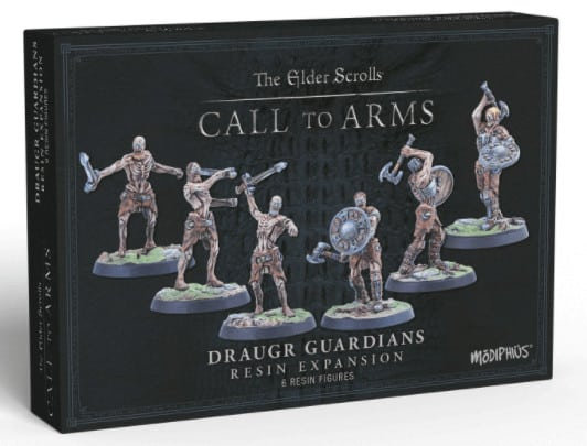 Elder Scrolls Call To Arms - Draugr Guardians - Resin Expansion