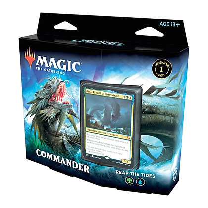 Magic the Gathering Commander Legends Deck - Reap the Tides