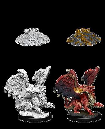 Red Dragon Wyrmling - D&D Nolzurs Marvelous Miniatures