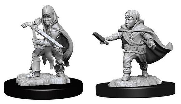 Halfling Rogue ( Male ) - D&D Nolzurs Marvelous Miniatures
