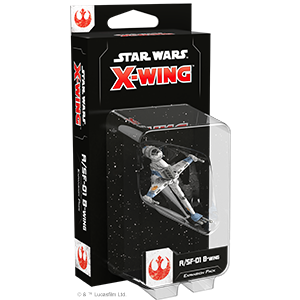 Star Wars X wing Rebel Alliance - A/SF-01 B-Wing Expansion Pack