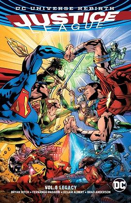 Justice League ( Rebirth ) Vol 05 - Legacy