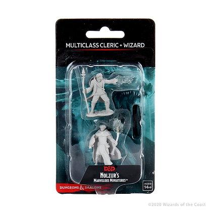 Multiclass Human Cleric & Wizard ( Male ) - D&D Nolzurs Marvelous Miniatures