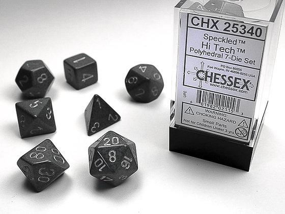 Dice Chessex Speckled 7 Die Set - Hi Tech