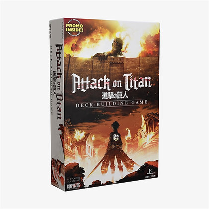 Attack on Titan Deck Building Card Game