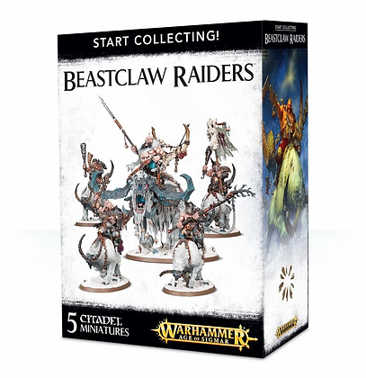 Age of Sigmar - Start Collecting - Beastclaw Raiders