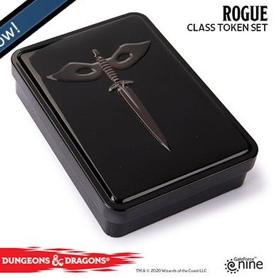 Dungeons and Dragons Token set - Rogue