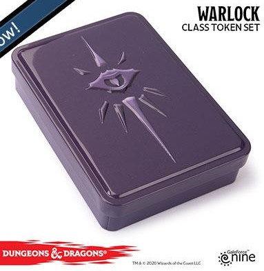 Dungeons and Dragons Token set - Warlock