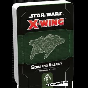 Star Wars X wing Scum and Villainy Damage Deck
