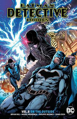 Batman Detective Comics (Rebirth) Vol 8 On the Outside