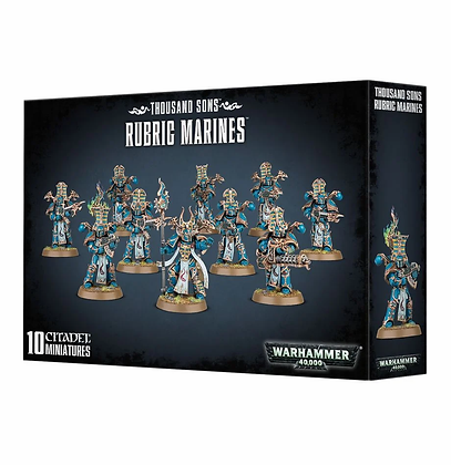 Thousand sons - Rubic Marines