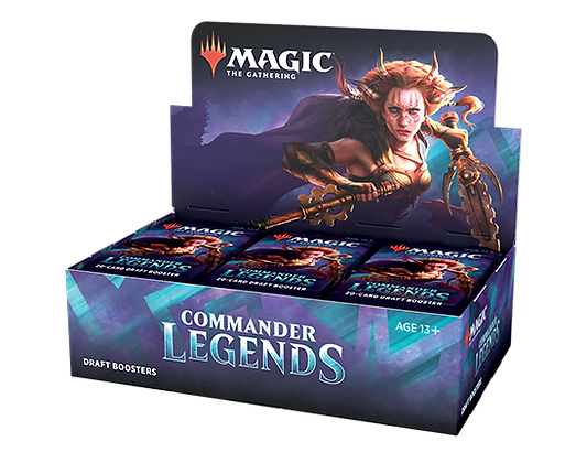 Magic the Gathering Commander Legends Sealed Booster Box