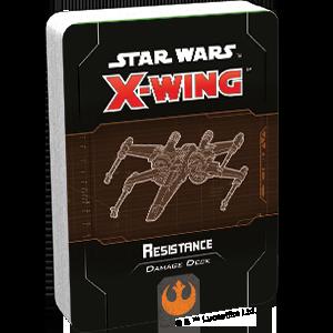 Star Wars X wing Resistance Damage Deck