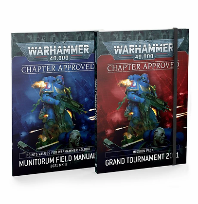 Chapter Approved: Grand Tournament 2021 Mission Pack and Munitorum Field Manual