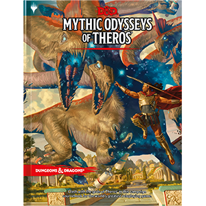 Books - Dungeons & Dragons Mythic Odyssey of Theros