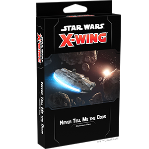 Star Wars X wing - Never Tell Me The Odds Obstacles Pack