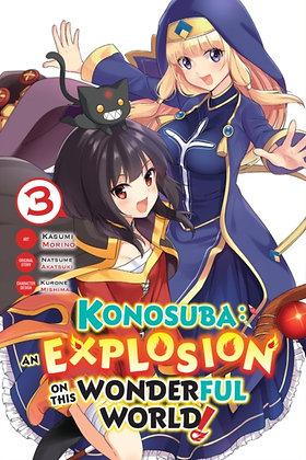 Konosuba An Explosion on the Wonderful World Vol 03