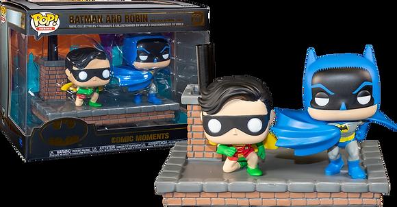 Funko pop Comic Moments - Batman and Robin