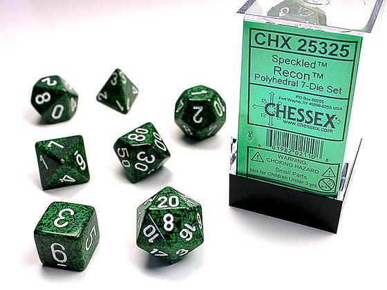 Dice Chessex Speckled 7 Die Set - Recon