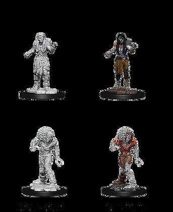 Drowned Assassin & Drowned Ascetic - D&D Nolzurs Marvelous Miniatures