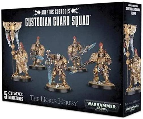 Adeptus Custodes - Custodian Guard Squad