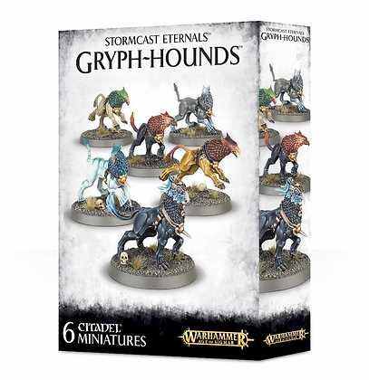 Age of Sigmar - Stormcast Eternals - Gryph Hounds