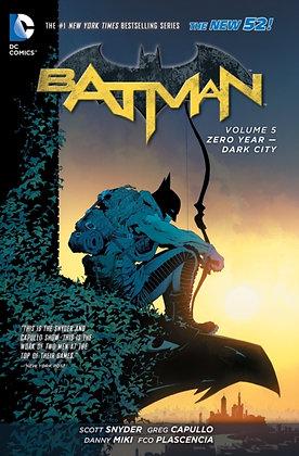 Batman (New 52) Vol 5 Zero Year Dark City