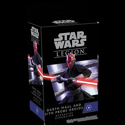Star Wars Legion - Separatist - Darth Maul and Sith Probe Droids Operative Expan