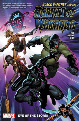 Black Panther Agents of Wakanda Vol 1 Eye of the Storm