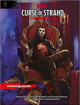 Books - Dungeons & Dragons Curse of Strahd