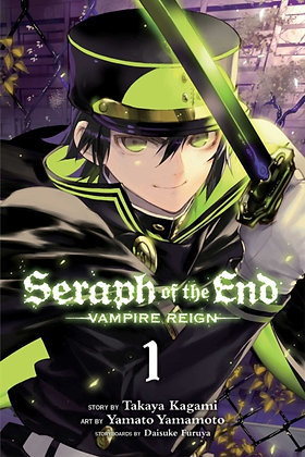 Seraph of the End Vol. 01 : Vampire Reign