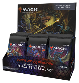 Magic the Gathering Dungeons & Dragons Forgotten Realms Sealed SET Booster Box