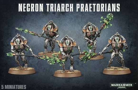 Necrons - Triarch Praetorians