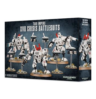 T'au - XV8 Crisis Battlesuits - Tau