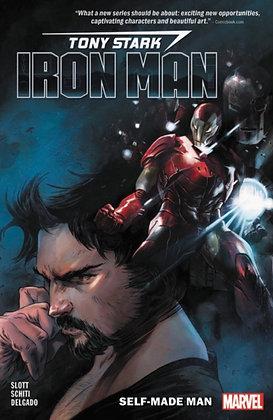 Iron Man, Tony Stark. - Self-made man