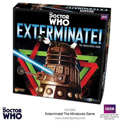 Dr Who Exterminate! - The Miniatures Game