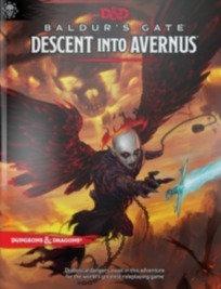 Books - Dungeons & Dragons Baldur's Gate Descent into Avernus