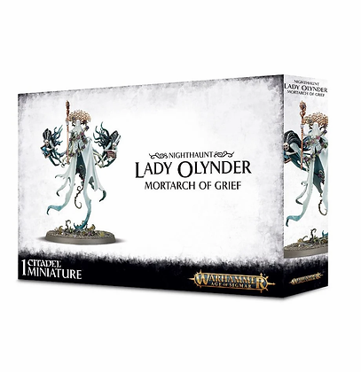 Nighthaunt - Lady Olynder - Mortarch of Grief