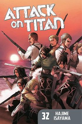 Attack On Titan Vol 32