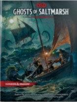 Books - Dungeons & Dragons Ghosts of Saltmarsh