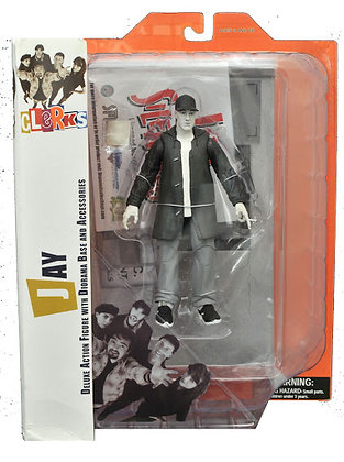 Clerks - Jay - Deluxe Action Figure withe Diorama base and Accessories