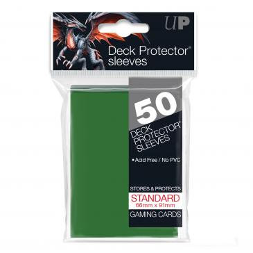 Card Sleeves Ultra Pro - 50 Deck Protector Sleeves Green