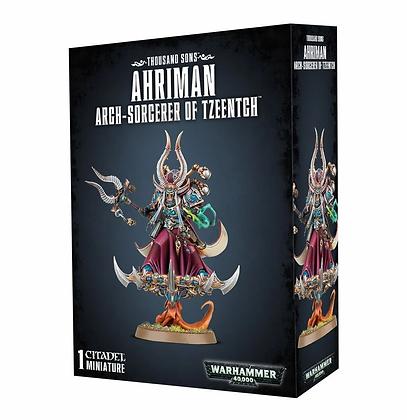 Thousand sons - Ahriman Arch-Sorcerer of Tzeentch