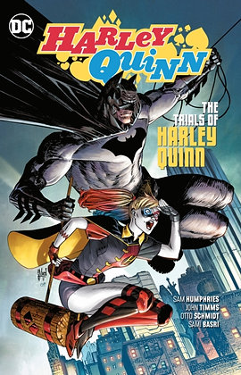 Harley Quinn (Rebirth) Vol 3 - The Trials of Harley Quinn