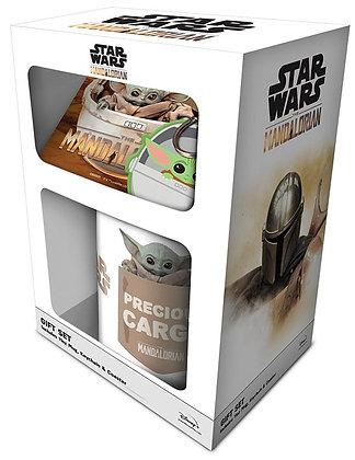 Mug, Coaster and Keyring Gift Set - The Mandalorian (Star Wars)